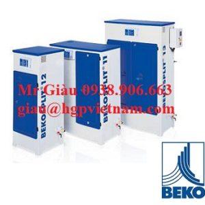 Máy lọc tách dầu Bekomat